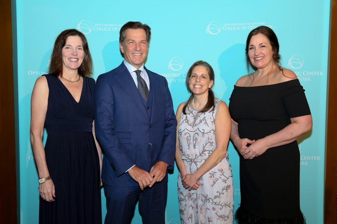 Eyes on New York 2019 Honorees Dr. Susan Fromer, Dr. Mark Fromer, Dr. Julia Appel '91 and Dr. Kimberly Reed of Regeneron