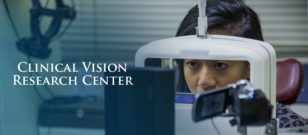 Eye Exam at the Clinical Vision Research Center