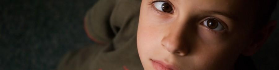 Child with amblyopia