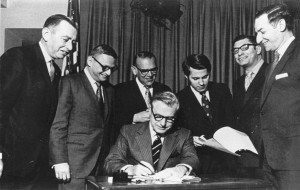 Rockefeller signing