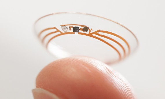 smart contact lens image
