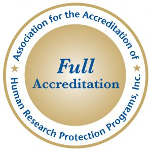 Accreditation badge