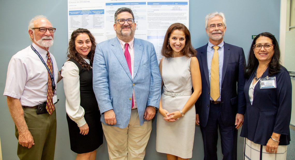 ASSEMBLYMEMBER ARAVELLA SIMOTAS TOURS UPGRADED NEURO-OPTOMETRIC UNIT AT SUNY COLLEGE OF OPTOMETRY