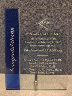 COVD Award