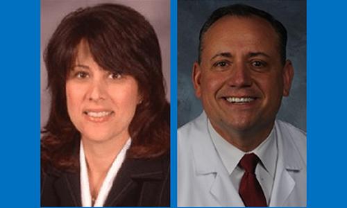 Dr. Annette Contento and Dr. A.J. Contento