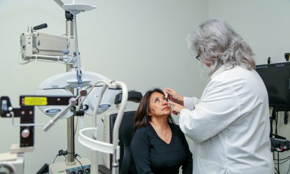 Dr. Pace Administering Eye Drops (5)