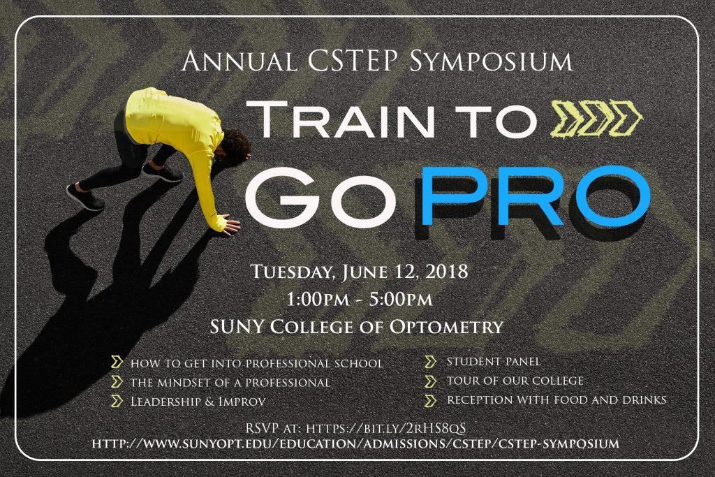Annual CStep Symposium banner