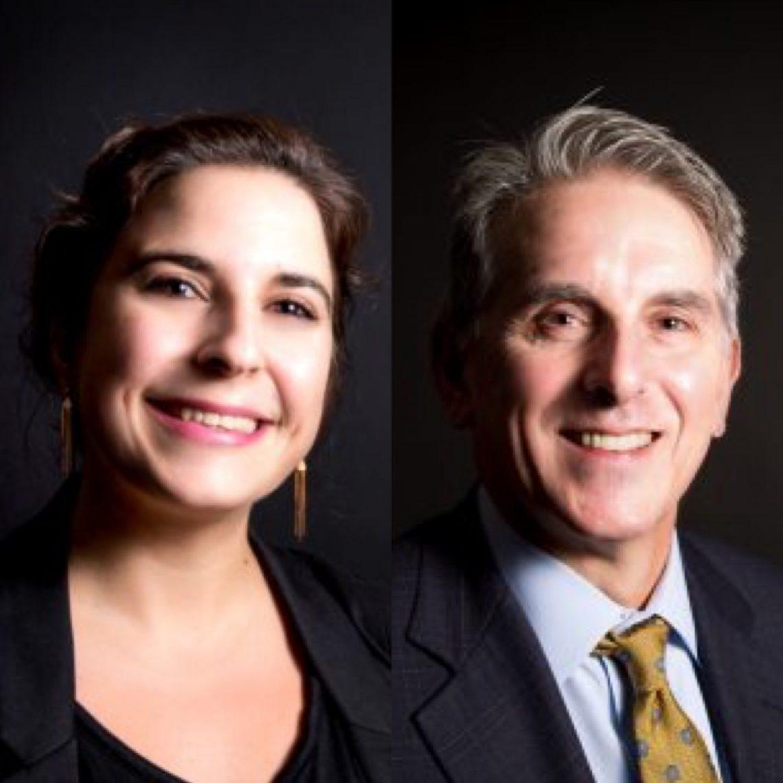 Dr. Alexandra Benavente-Perez and Dr. David Troilo