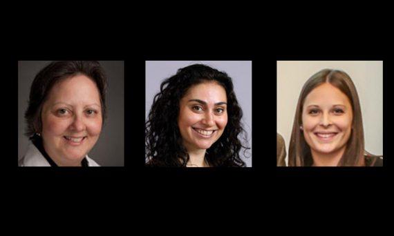 Dr. Diane Adamczyk, Dr. Daniella Rutner, Sarah Gleason