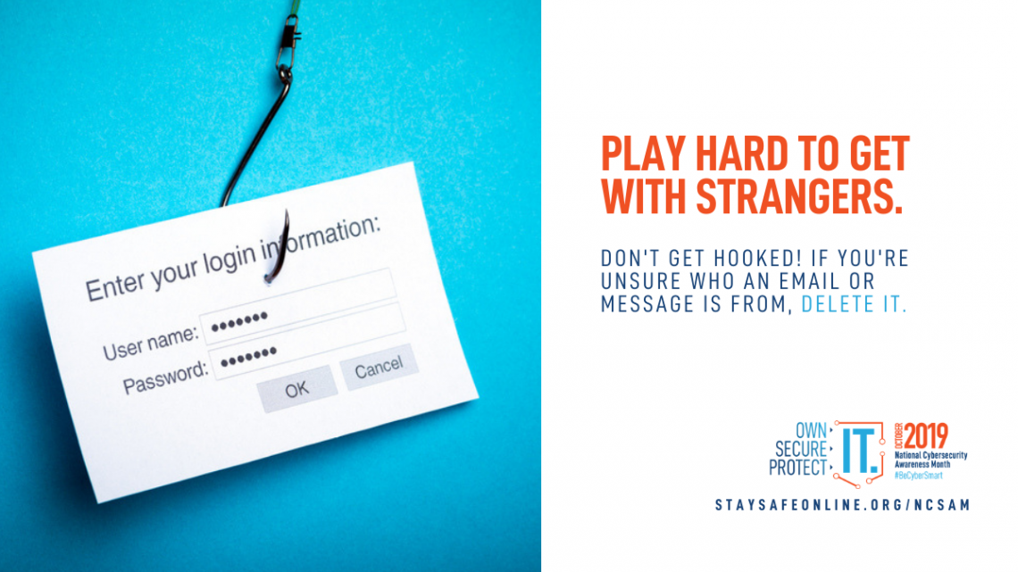 Play Hard to Get With Strangers Graphic