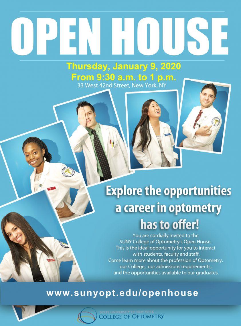 January 9 2020 Open House