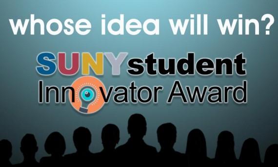 SUNY Innovator Award poster