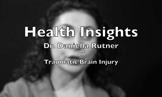 Health Insights video title card