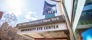 SUNY optometry front of building