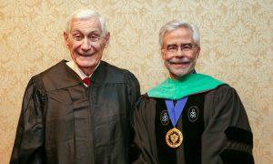 Harold Wilshinsky and Dr. David Heath