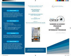 CStep brochure cover