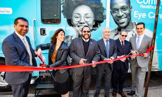 The Eye Mobile van will expand access to eye and vision care for New Yorkers in low-income and underserved communities.